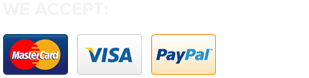 Secure payment through credit cards, paypal and eway