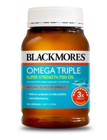 Blackmores omega anti inflammatory triple concentrated for Best fish oil to reduce inflammation