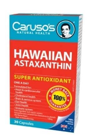 Carusos Natural Health Astaxanthin