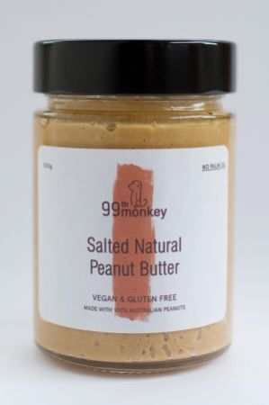 99th Monkey Salted Natural Peanut Butter