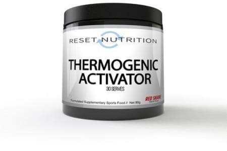 Reset Nutrition Thermogenic Activator.