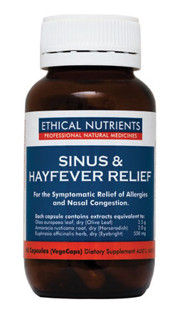 Ethical Nutrients Sinus and Hayfever Relief