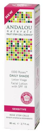 Andalou Naturals 1000 Roses Daily Shade Facial Lotion (SPF 18)