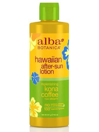Alba Botanica Hawaiian After Sun Lotion Kona Coffee