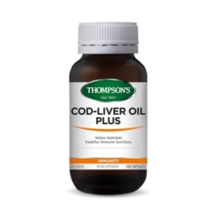 Thompsons Cod Liver Oil Plus Capsules