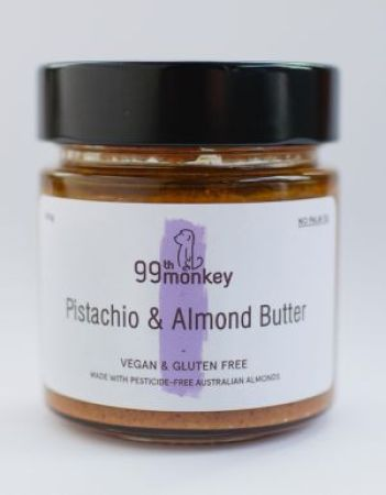 99th Monkey Pistachio and Almond Butter