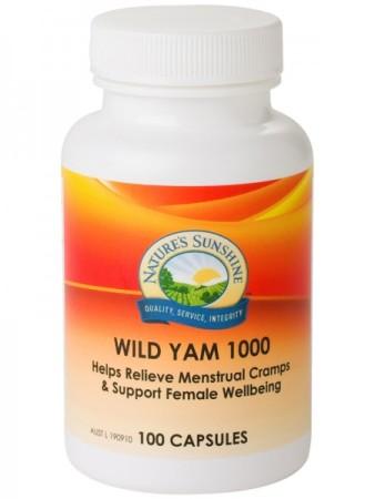 Nature`s Sunshine Wild Yam 1000