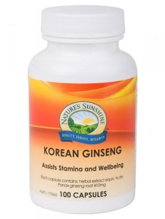 Nature`s Sunshine Korean Ginseng