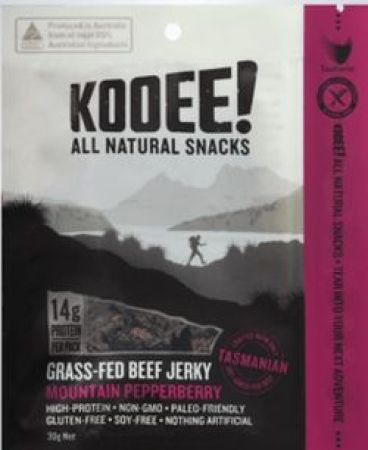 Kooee All Natural Snacks Mountain Pepperberry