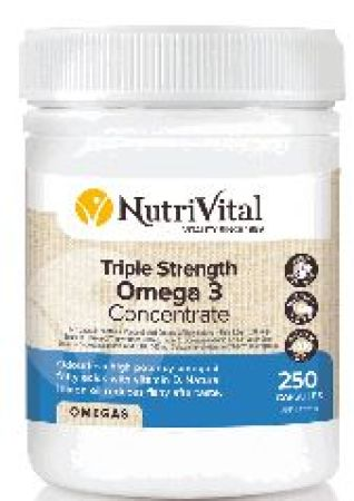 NutriVital Triple Strength Omega 3 Concentrate