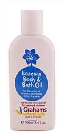 Grahams Kids Eczema Body and Bath Oil