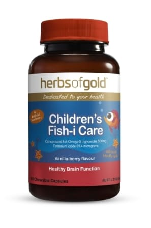 Herbs of Gold Childrens Fish-i Care