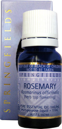 Rosemary Certified Organic Springfields Essential Oil