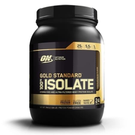 Optimum Nutrition Gold Standard 100% Isolate 24 Serves