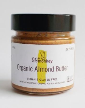 99th Monkey Organic Almond Butter