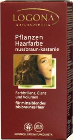 Logona Herbal Hair Colour Walnut Red Brown