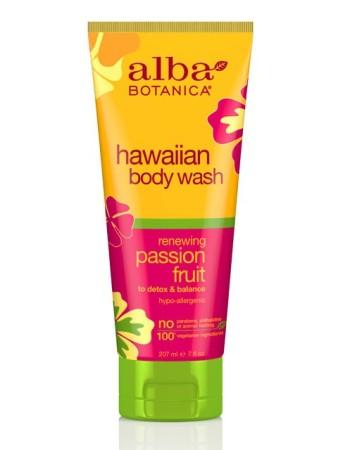 Alba Botanica Hawaiian Body Wash Passion Fruit