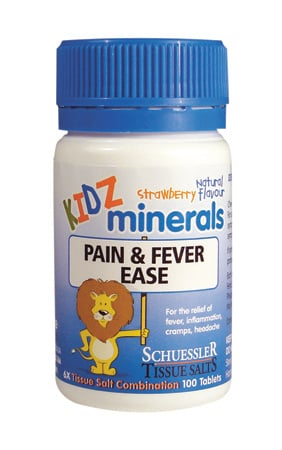 Schuessler Pain and Fever Ease Kidz Minerals