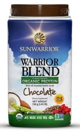 Sunwarrior Organic Warrior Blend Protein 1kg
