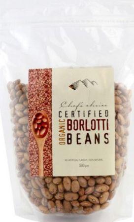 Chefs Choice Organic Borlotti Beans