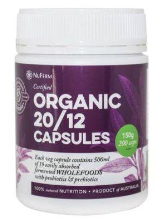 Nattrition Organic 2012 Blend Capsules