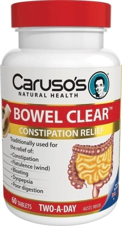Carusos Natural Health Bowel Clear