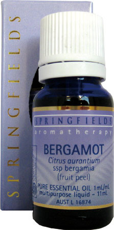 Bergamot Certified Organic Springfields Essential Oil