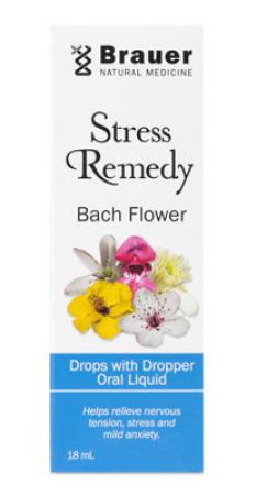 Brauer Stress Remedy Bach Flower Oral Spray