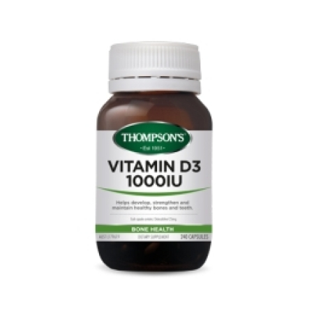 Thompsons Vitamin D3 1000 IU