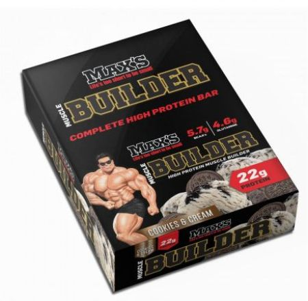 Maxs Muscle Builder Bars