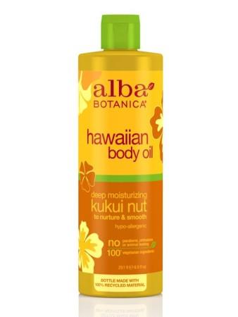 Alba Botanica Hawaiian Body Oil Kukui Nut
