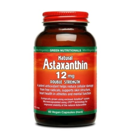 Green Nutritionals Natural Astaxanthin 12mg