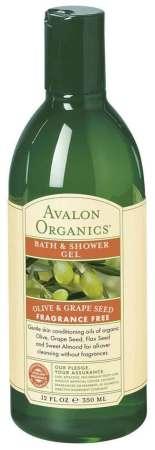 Avalon Organics Olive and Grape Seed Bath and Shower Gel