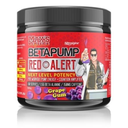 Maxs Lab Series Beta-Pump Red Alert