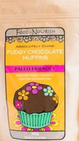 Food To Nourish Fudgy Chocolate Muffins