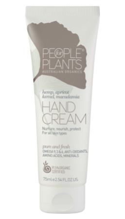 People for Plants Hemp, Apricot Kernel and Macadamia Hand Cream