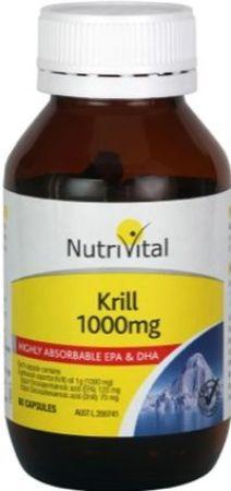 Nutrivital Krill 1000mg