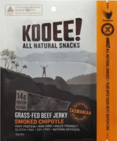 Kooee All Natural Snacks Smoked Chipotle