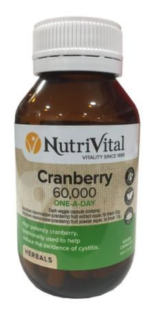 NutriVital Cranberry 60,000 ONE-A-DAY