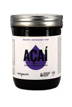 Loving Earth Raw Organic Acai Powder 150 grams