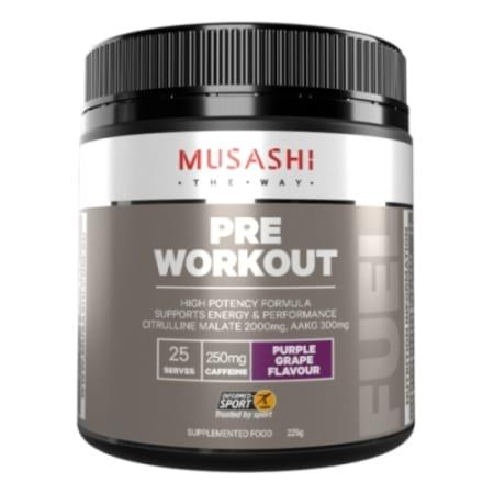 Musashi Pre workout