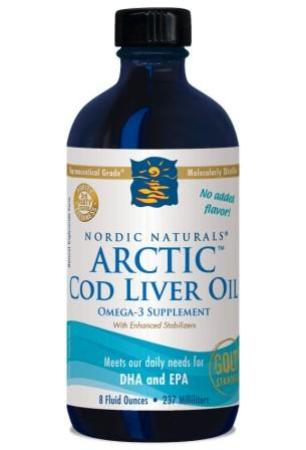 Nordic Naturals Arctic Cod Liver Oil Liquid 237 ml