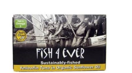 Fish 4 Ever Yellowfin Tuna in Organic Sunflower Oil