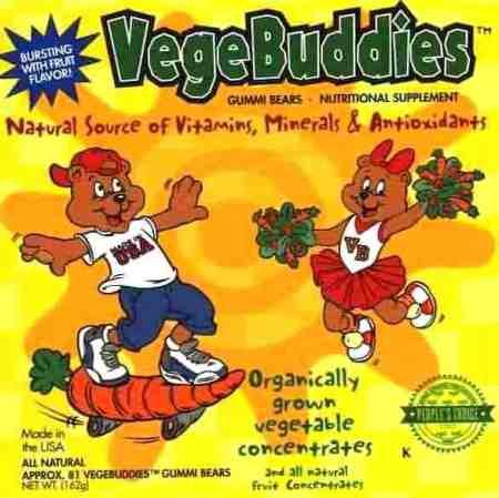 Vege Buddies Gummy Bears