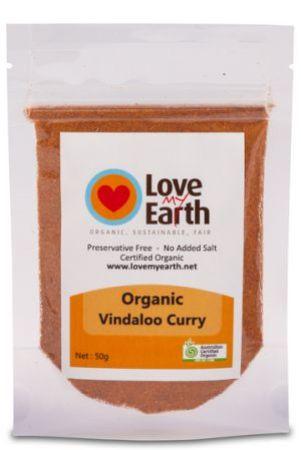 Love My Earth Organic Vindaloo Curry