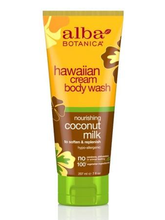 Alba Botanica Hawaiian Cream Body Wash Coconut Milk