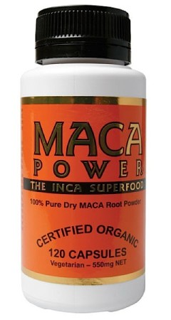 Maca Power Organic Capsules