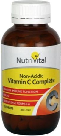 Nutrivital Non Acidic Vitamin C Complete