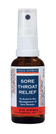 Ethical Nutrients Sore Throat Relief