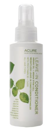 Acure Organics Argan Oil Argan Stem Cell Leave In Conditioner